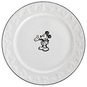 Disney Parks Gourmet Mickey Mouse Dinner Plate (Disney Dinnerware)