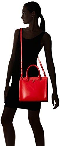 Lodis Linda Handle Red Audrey Top Bag Satchel Medium rUrPxS