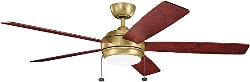 Kichler 330180NBR Ceiling Fan with Light
