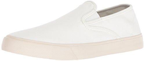 Sperry Men's Captain's Slip ON Sneaker, White, 11.5 M US