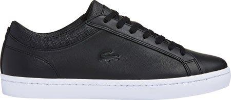 Lacoste Hombres Negro Straightset 116 Zapatillas