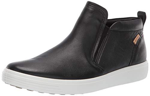 ECCO Women's Women's Soft 7 Slip On Boot Sneaker, Black, 43 M EU (12-12.5 US)