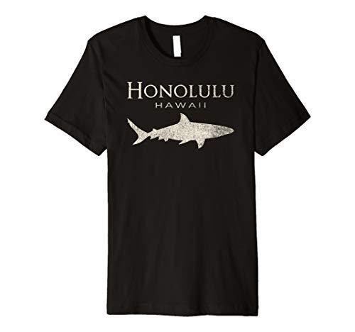 Retro Honolulu HI Shark T-Shirt