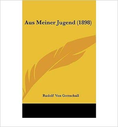 Book Aus Meiner Jugend (1898) (Hardback)(German) - Common