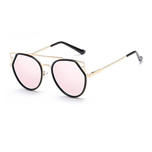 3a1996cae81527 Aoligei Véritable marée Film couleur hommes et aux femmes du même chat  style lunettes de soleil