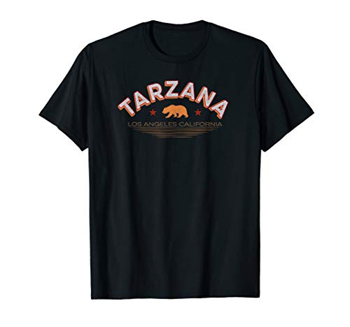 Tarzana Los Angeles Shirt LA Valley Neighborhood Cali Bear T-Shirt (Best Neighborhoods In San Fernando Valley)