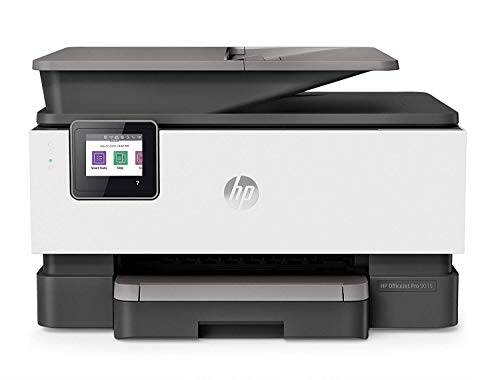 HP OfficeJet Pro 9015 All-in-One Wireless Printer, with Smart Home Office Productivity, Instant Ink & Amazon Dash Replenishment Ready (1KR42A) from HP