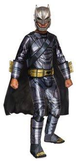 [Rubie's Costume Batman v Superman: Dawn of Justice Armored Batman Deluxe Child Costume, Medium] (Muscle Batman Costumes)