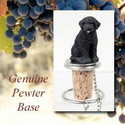 - Portuguese Water Dog Wine Bottle Stopper - DTB72 by Conversation Concepts
