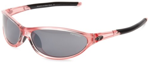 Tifosi womens Alpe 2.0 Single Lens Sunglasses,Crystal Pink,62 mm
