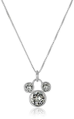 Disney Sterling Swarovski Crystal Necklace
