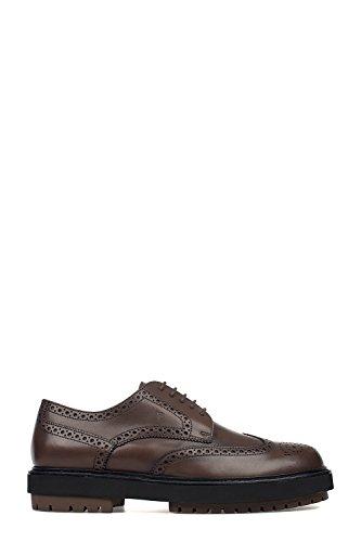 Tod's Homme XXM0ZW00C10D9CS801 Marron Cuir Chaussures À Lacets