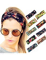 9 Pack Women Elastic Velvet Cute Cat Ears Headbands Makeup Cosmetic Spa Facial Cleansing Beauty Tool Hair Band