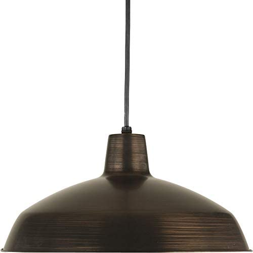 Progress Lighting P5094-74 1-Light Pendant, Venetian Bronze