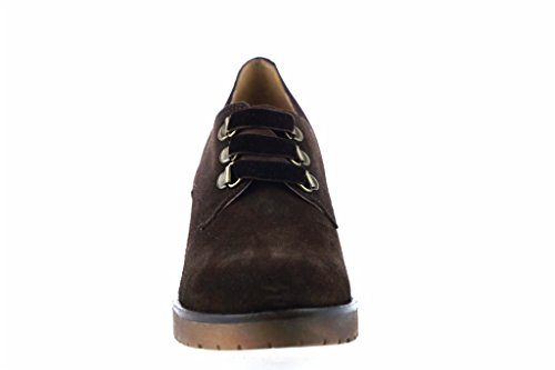 Brown Chaussure Lince Shoes Heel carré Zwvfn5FOq