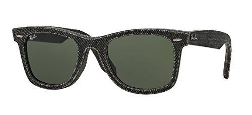 Ray-Ban Original Wayfarer 2140F 1162 Denim Black Sunglasses - Wayfarer Ray Ban Small