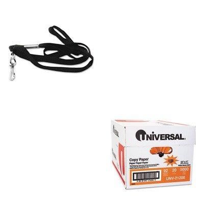 KITAVT75424UNV21200 - Value Kit - Advantus Deluxe Lanyards (AVT75424) and Universal Copy Paper (UNV21200)