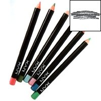 Nyx Cosmetics Slim Eye Pencil, Charcoal