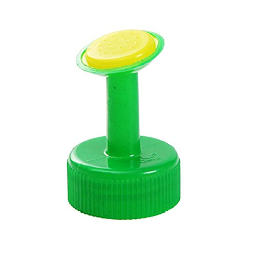 VIASA Bottle Top Watering Garden Plant Sprinkler Water Seed Seedlings Irrigation (Green) - Edge Punch Doily Lace