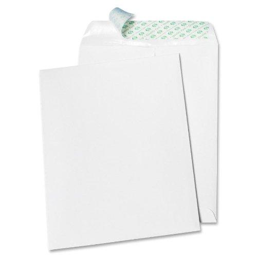 Quality Park Tech-No-Tear Catalog Envelope, White, 9 x 12 Inches, 100 Envelopes (77390)