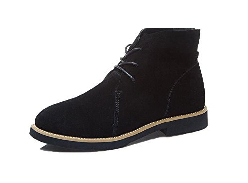 Shoes Knight Flat Women's Honeystore Boots Boots up Black Boots Oxford Lace Classical Ankle xS8SqfX