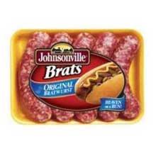 Hot Dog Jerky (Johnsonville Original Bratwurst, 5 Pound - 2 per case.)