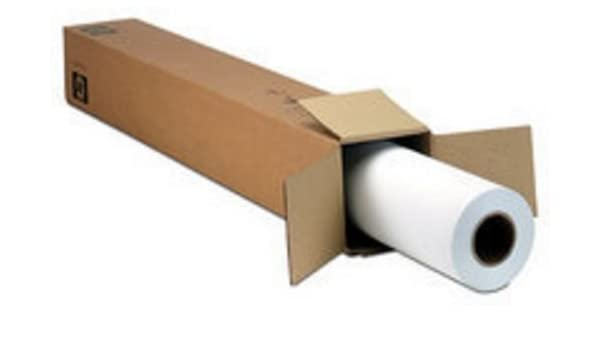 HP impregnado Papel, 610 mm x 45,7 m, Mate: Amazon.es: Electrónica
