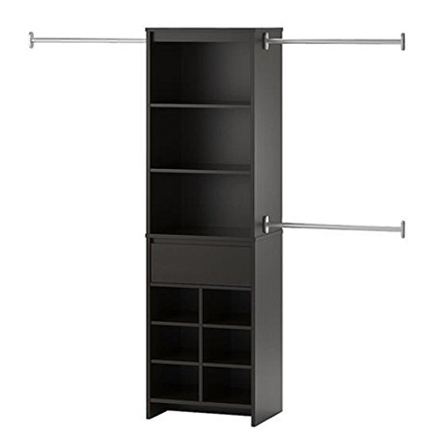 Ameriwood Home Adult Closet System, Espresso by Ameriwood Home