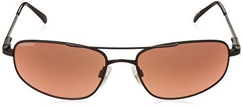 e18db154fa Amazon.com  Serengeti Velocity Sunglasses (Satin Black) with Silicon Gel  Nose Pads  Clothing