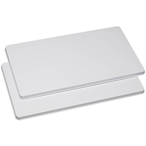 Set of 2 Electric Stove Rectangular Burner Covers, Keep Tidy and Gain Extra Counter Space, Choose Color, 20
