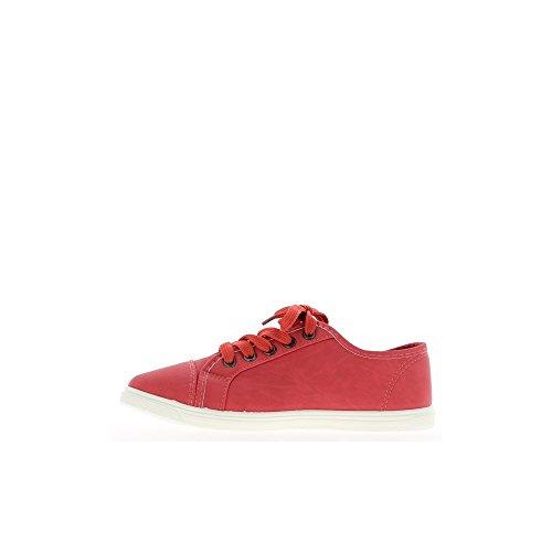 ChaussMoi - Zapatillas de sintético para mujer, color marrón, talla 40