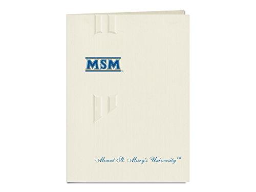 Signature Announcements Mount St. Mary's University Graduation Announcements, Elegant style, Basic Pack 20 with Logo Foil by Signature Announcements