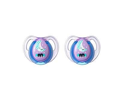 Chupete Tommee tippee Explora 0-6 meses lila pack 2 uds ...