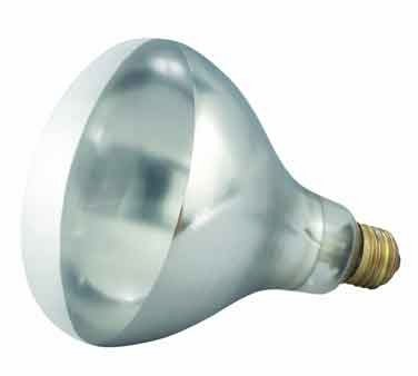 Winco - Bulb for Heat Lamp, Replacement Bulb for EHL-2, EHL-BW, Clear, 250W