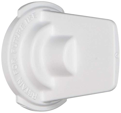 (Lifetime Appliance WR02X11705 Filter Bypass Cap for General Electric (GE) Refrigerator)