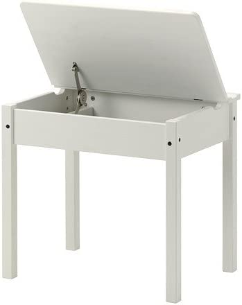 Ikea SUNDVIK - Niños-s Escritorio, Blanco - 58x45 cm: Amazon.es: Hogar