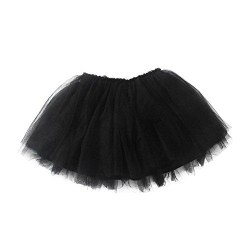 Easy Crepe Pants (Coohole Cute Infant Toddler Baby Girls Solid Fashion Dress Tutu Princess Skirt (24M, Black))
