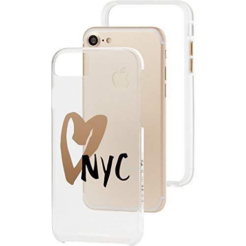 f8c80a9521 Amazon | Case-Mate iPhoneケース (iPhone 8 / 7 / 6s / 6) ハード スマホケース カバー  [耐衝撃・ワイヤレス充電対応・二重構造] タフ ネイキッド クリア ...