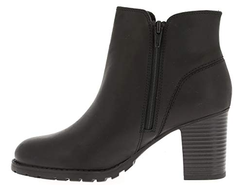 Slouch Boots Verona Clarks Leather Women's Black Trish Black qS7BwtIvx