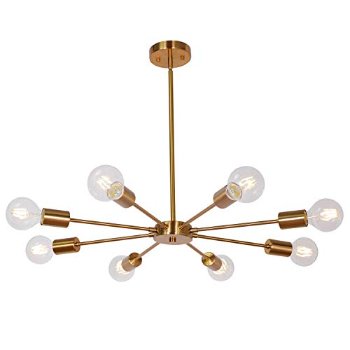 Minka Lavery Crystal Chandelier Lighting 3127-126, Mini Candle, 4 Light, 160 Watts, Walnut