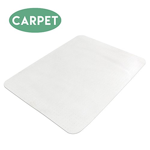 Carpet Chair Mat for Office Chairs 36 x 48 - Floor Mats for Computer Desk (Roller Chair Mat)