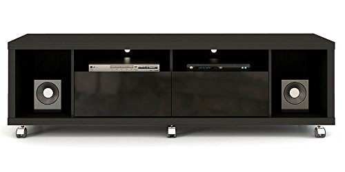 - Manhattan Comfort Cabrini 1.8 Stand Collection Free Standing TV Stand for Flat Screens, 71
