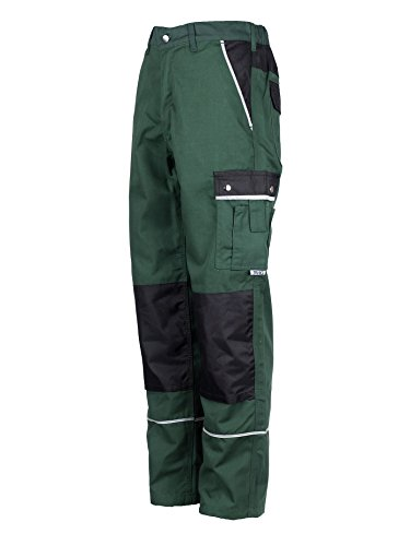 Pocket Trouser (TMG Heavy Duty Cargo Work Trousers With Knee Pads Pockets 50 Green)