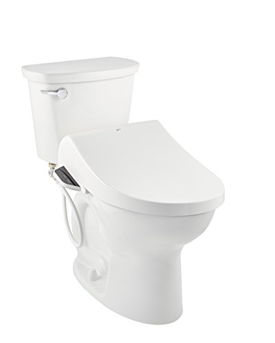 INAX 8012A70GRC-415 Heated Shower Toilet Bidet Seat with Remote Control + Dual Nozzle, White by INAX (Image #6)
