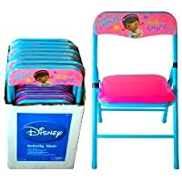 Disney Doc Mcstuffin Folding Erasable Activity Chair