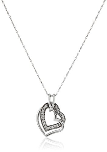 Diamond 10k Gold Necklace - 2