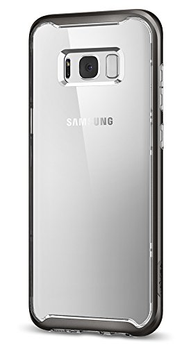 Spigen Neo Hybrid Crystal Galaxy S8 Plus Case with Clear Hard Casing and Reinforced Hard Bumper Frame for Galaxy S8 Plus (2017)