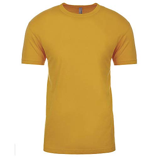 - Next Level 3600 Men's Cotton Crew Antique Gold XL