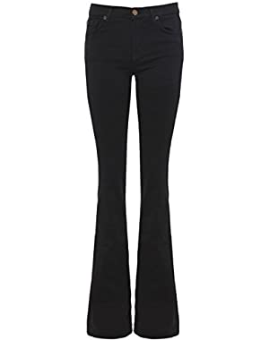 7 For All Mankind Skinny Bootcut Jeans Black