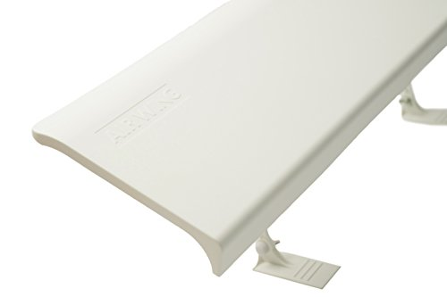 Air Wing Smart Pro the Original Air Deflector White